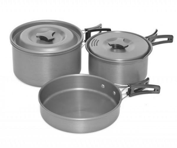 Trakker Armolife 3 Piece Cookware Set   CarpLine.hu