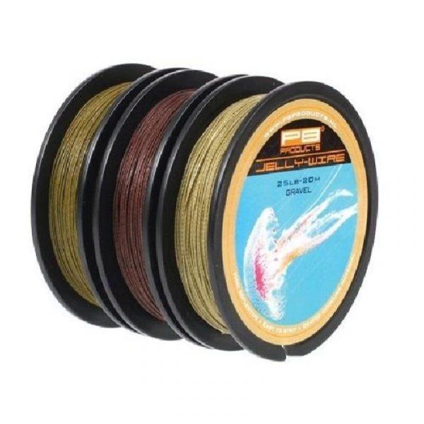 PB Products Jelly Wire Silt 25LB 20M - iszapszínű előkezsinór | CarpLine.hu