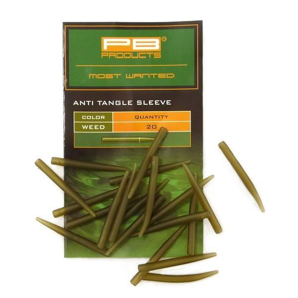 PB Products Anti Tangle Sleeves Weed - növényzet színű szilikon hüvely   CarpLine.hu