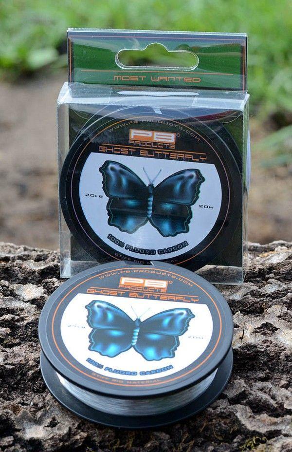 PB Products Ghost Butterfly 20LB - fluorocarbon előkezsinór | CarpLine.hu