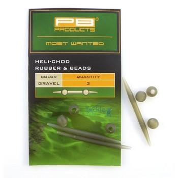 PB Products Heli-Chod Rubber & Beads Weed - növényzetszínű gumiütköző | CarpLine.hu