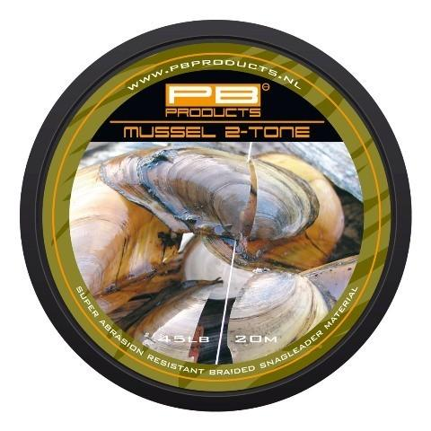 PB Products Mussel 2 Tone előkezsinór 35LB 20M | CarpLine.hu