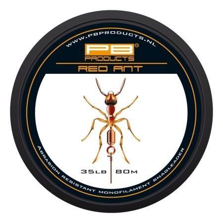 PB Products Red Ant- előtétzsinór 35LB 80M | CarpLine.hu