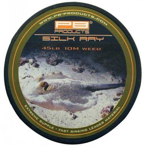 PB Products Silk Ray Weed 45LB 10M- növényzet színű ólomnélküli előkezsinór | CarpLine.hu