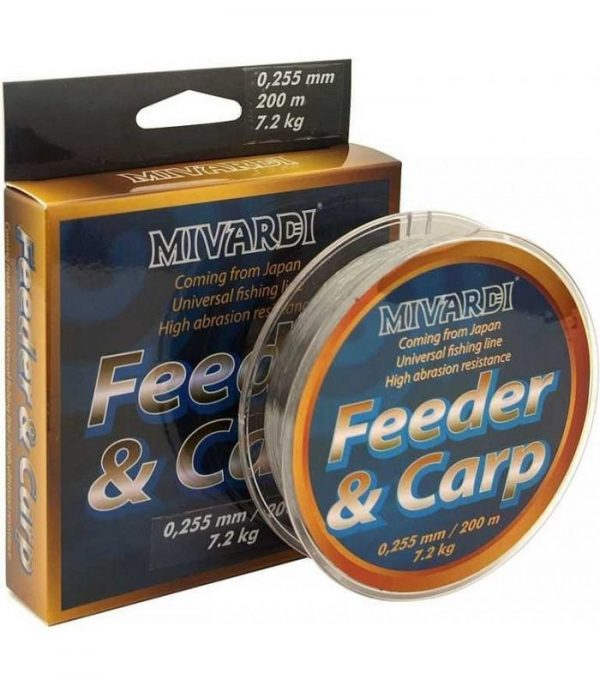 MIVARDI CARP&FEEDER zsinór 0.255mm 200m   CarpLine.hu