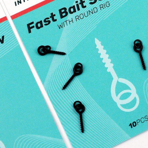 SEDO Fast Bait Screw with Round Rig 4.4mm   CarpLine.hu