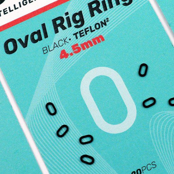 SEDO Oval Rig Ring Black 4.5mm | CarpLine.hu