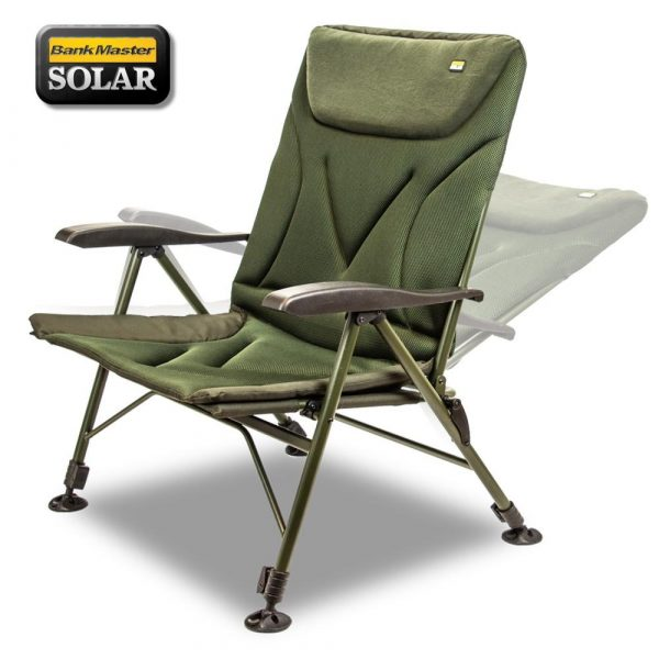 Solar Tackle Bankmaster Recliner Chair Wide - Karfás szék extra széles   CarpLine.hu