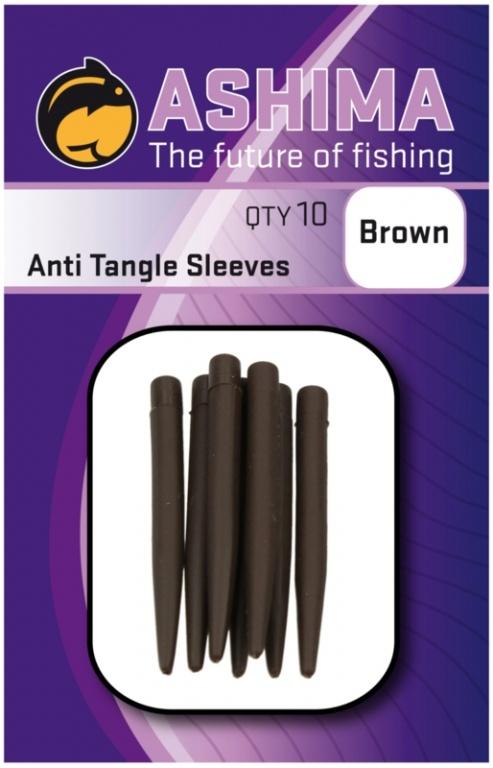 Ashima Anti Tangle Sleeves Brown | CarpLine.hu