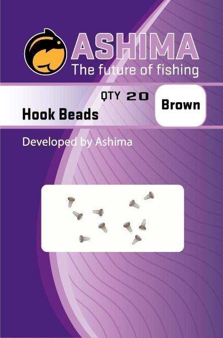 Ashima Hook Beads Brown   CarpLine.hu
