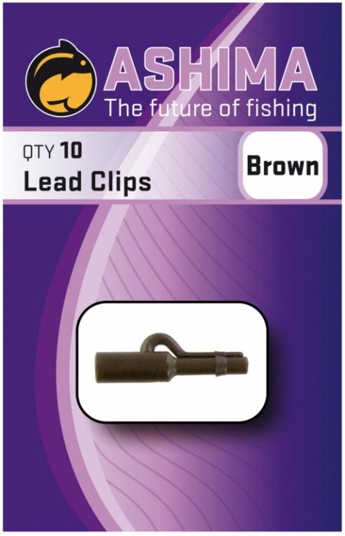 Ashima Lead Clips Brown   CarpLine.hu