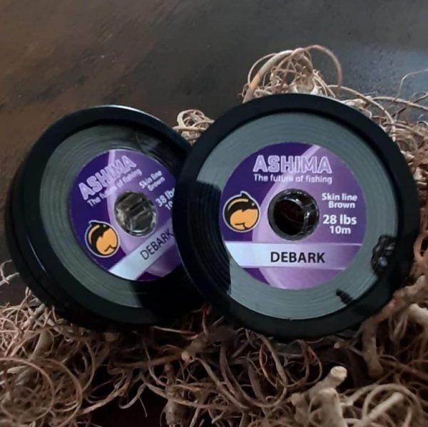 Ashima Debark Coated Hooklink 10m 18lbs | CarpLine.hu