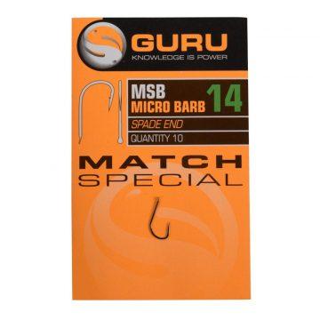 Guru match special horog 14 méret barbed | CarpLine.hu