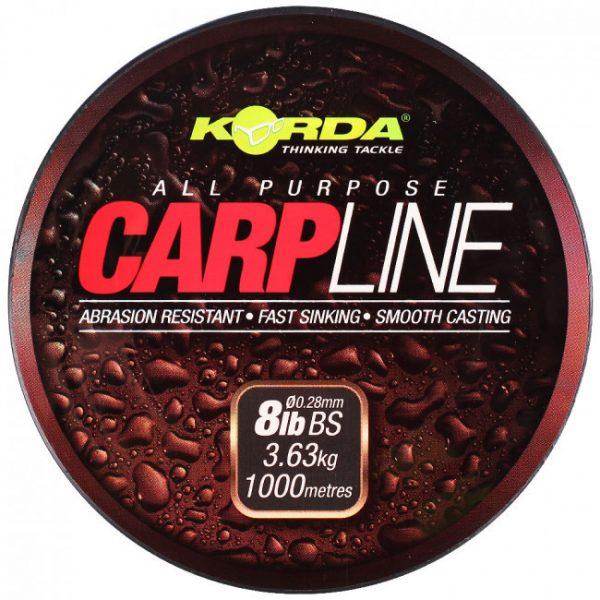 Korda Carp Line 10lb - (0.30mm) 1000m | CarpLine.hu