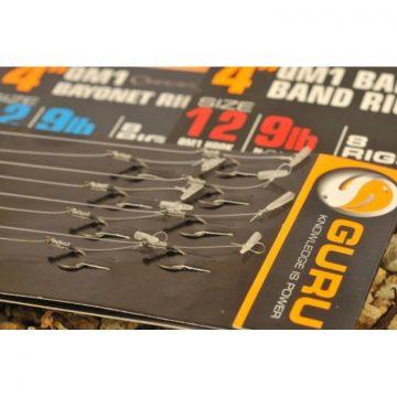 "Guru Speedstop QM1 Ready Rig 4"" size 12 - elökötött szerelék | CarpLine.hu"
