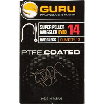Guru Super Pellet Waggler szakáll nélküli horog 10 méret | CarpLine.hu