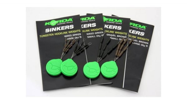 Korda Sinkers Medium Green - előkesúly | CarpLine.hu