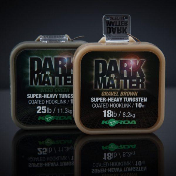 Korda Dark Matter Tungsten Coated Braid Weed Green - 18lb - 10m | CarpLine.hu