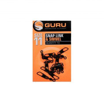 Guru Snap Link + Swivel Size 11   CarpLine.hu