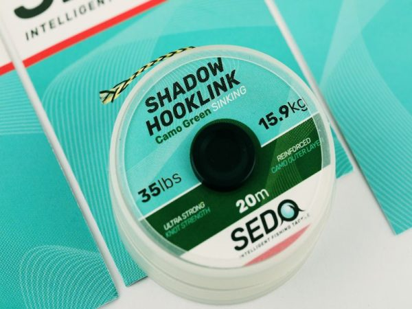 SEDO Shadow Hook-link Camo Green 25lbs | CarpLine.hu