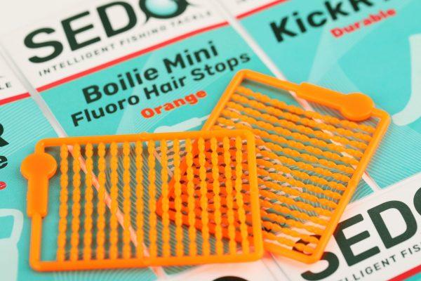 SEDO Boilie Mini Fluoro Hair Stops - Orange   CarpLine.hu